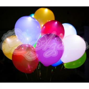 Светящиеся шары «Разноцветные с белым светодиодом»
